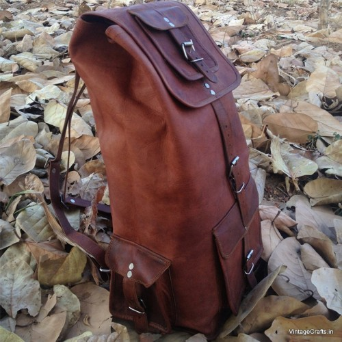 Goat Leather Backpack