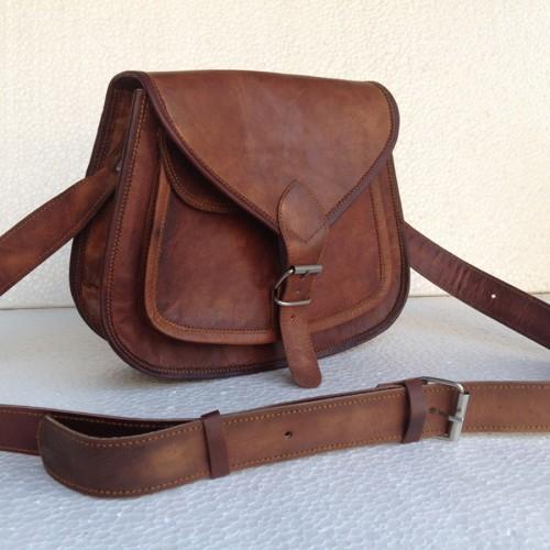 Goat Leather Cross Bag