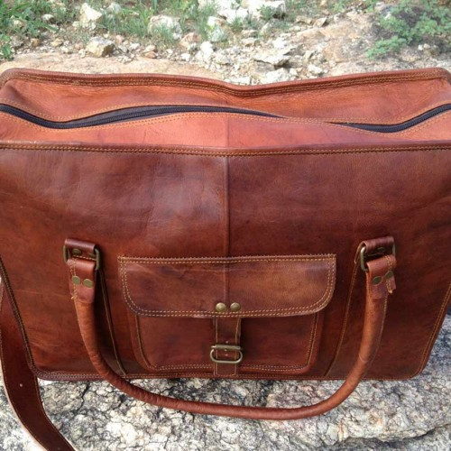 Real Leather Hand Bag