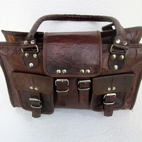 Fashionable Leather Handbag