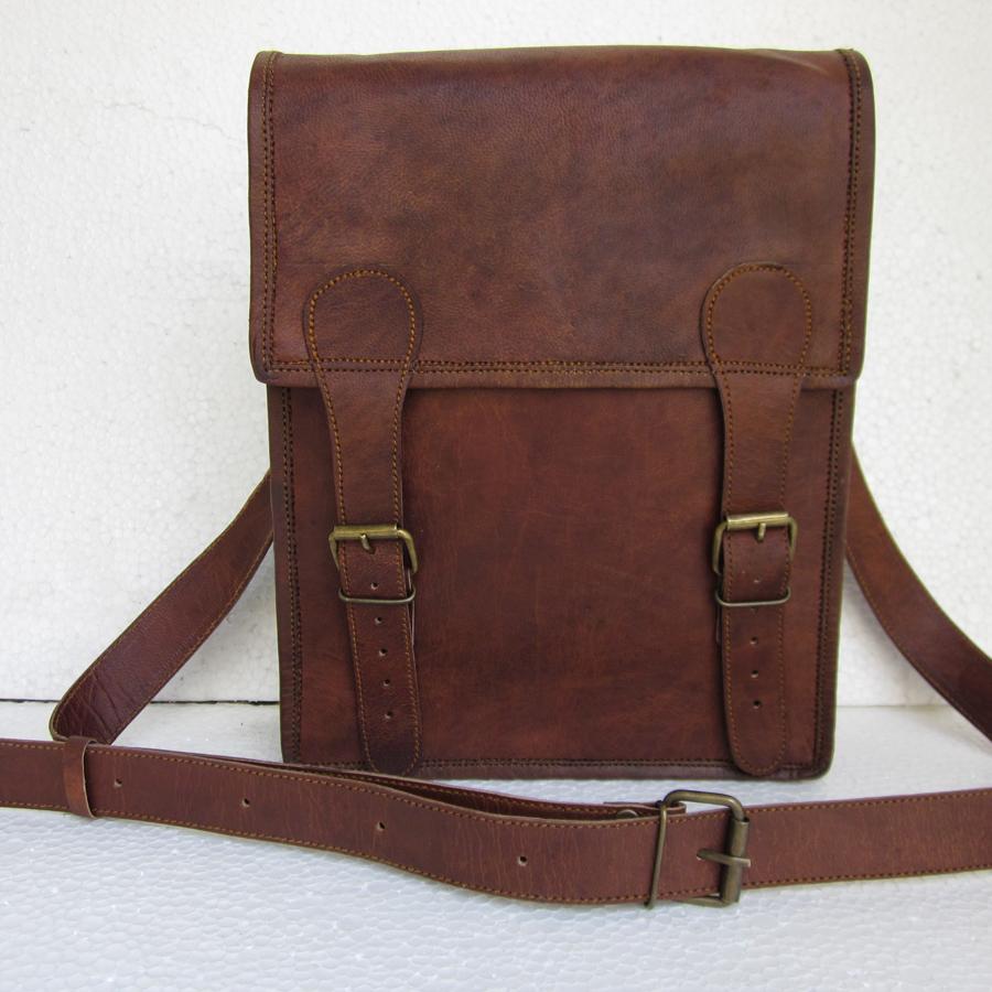 Vintage Look Messenger Bag